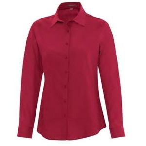 Ladies' Coal Harbour� Everyday Long-Sleeve Woven Shirt